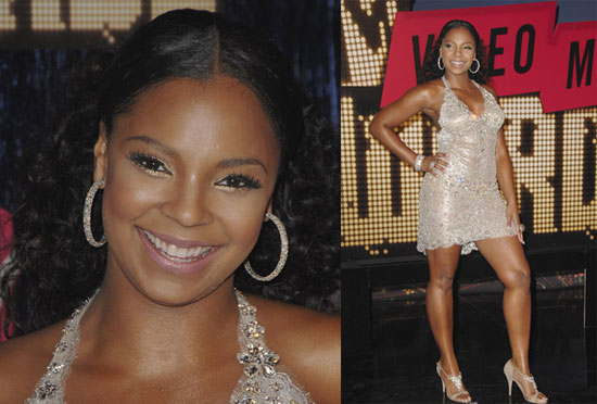 Ashanti All the pieces in Ashanti's outfit are glamorous, but for some reason the ...