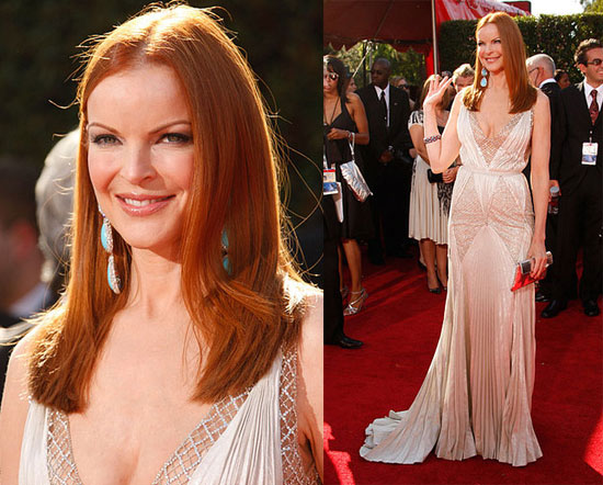 Marcia Cross is renowned for her beautiful fair skin and red hairbut I am
