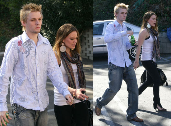 hilary duff aaron carter