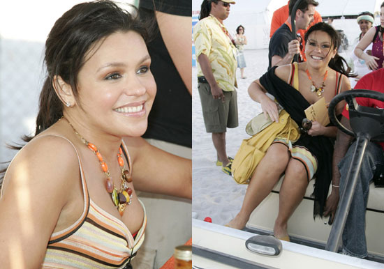 rachel ray Rachael Ray's got a great outlook on working out, eating and life.