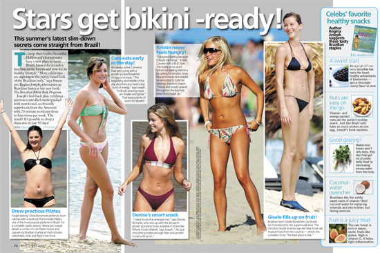 ... our favorite stars are getting bikini ready this year.