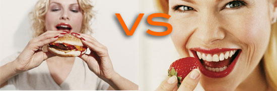 good eating habits versus bad eating habits When trying to change eating habits, my clients always think that willpower is the key to their success, and that they either have willpower or they don't but that type of they are encoded in us, and the brain really cannot tell the difference between a good habit and a bad habit the brain just knows that in.