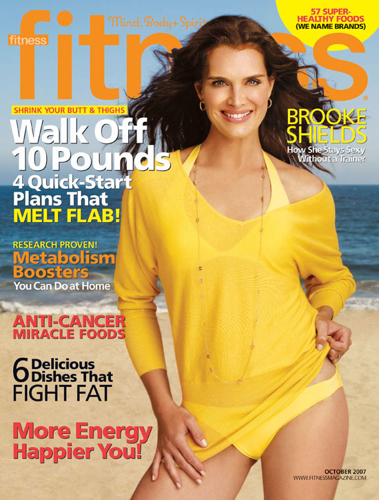 Brooke Shields' Healthy Secrets on Fitness