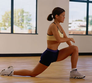hip flexor sporting activities for cyclists