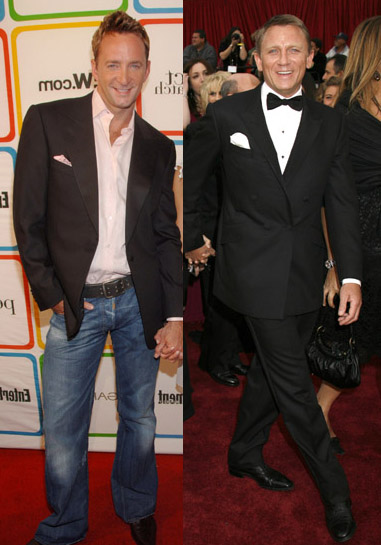 What Not To Wear's Clinton Kelly and Casino Royale's Daniel Craig
