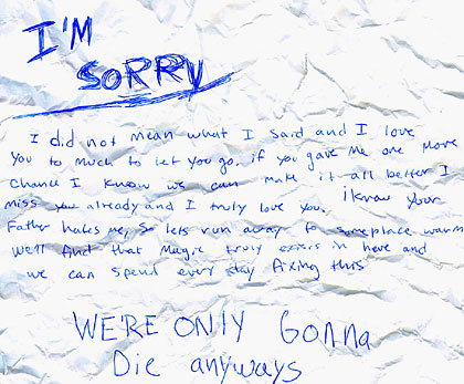 Apologize Letter  BlogTitle