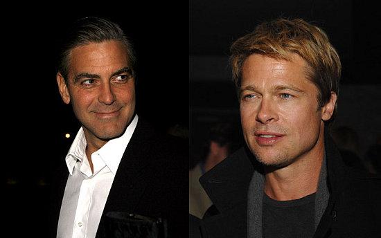 Brad Pitt George Clooney. George Clooney + Brad Pitt +