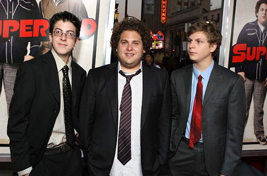 jonah hill michael cera superbad