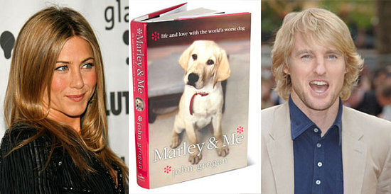 marley and me book. Dog ook to be made into a