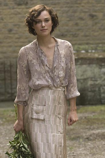 Best Dramatic Actress of 2007: Keira Knightley, Atonement