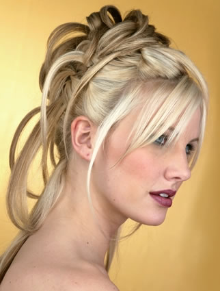 ugly prom hairstyles. Check out these UGLY bride
