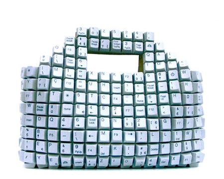Unusual Keyboard Handbag