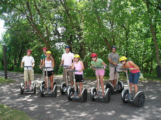 family travel segue fun segway fun
