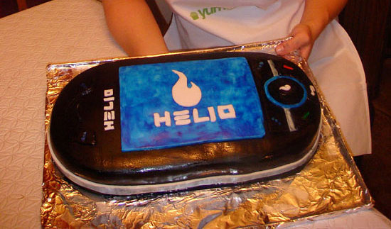 That's right my friends, A Helio Ocean CAKE!!! My Mom helped me with the