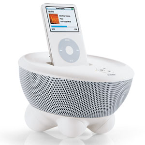 adorable is this white tub speaker system wouldn 39 t this sleek ipod