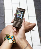 Sony Ericsson's Chocolate Brown Cyber-Shot Phone | geeksugar - Technology, Gadgets, & How Tos. :  cyber phone shot gadgets