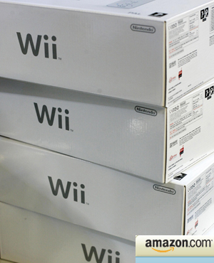 Wii's at Amazon.