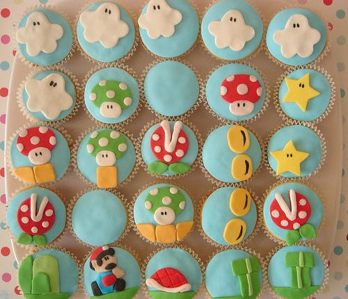 Super Mario Cupcakes 3