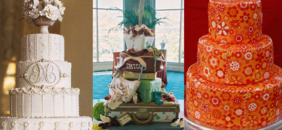 I was lucky enough to speak to three of America 39s hottest wedding cake