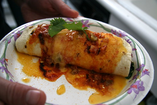 Bbq pork burritos recipe