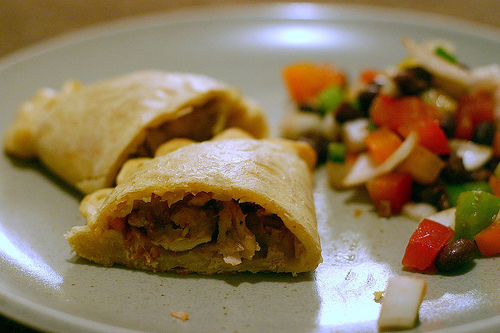 be sure to check out these chicken empanadas with chorizo and olives ...