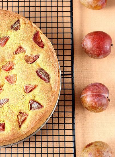 Yummy Link: Plum Cornmeal Cake | POPSUGAR Food
