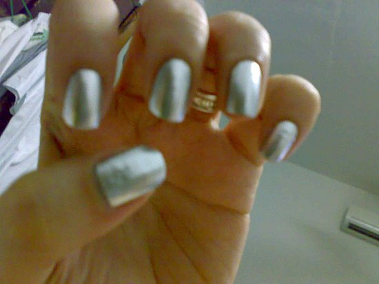 Silver nails
