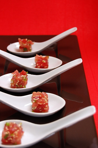 Asian Tuna Tartare | POPSUGAR Social
