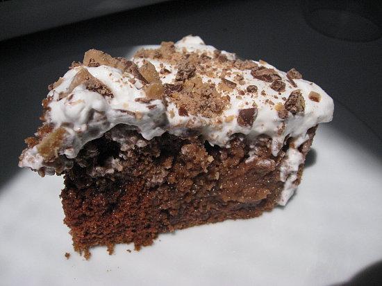 Heath Bar Toffee Cake Recipe