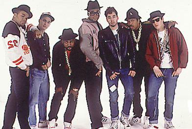 Beastie Boys and Run DMC
