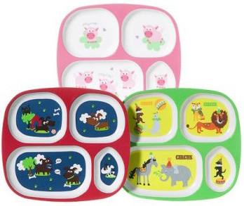 3 Partment Divided Plastic Kids Tray Set Of 12 In  sc 1 st  10000+ Best Deskripsi Plate 2018 & Kids Divided Plates - Best Plate 2018