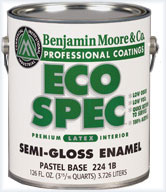 eco friendly paint options eco spec by benjamin moore