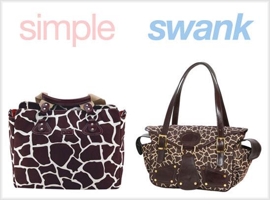 Simple or Swank: Diaper Bags