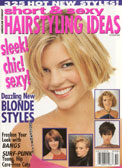 This model was featured in this Hairstyling ideas magazine