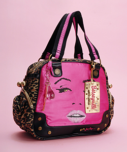 Betsey Johnson Diamond Girl Satchel