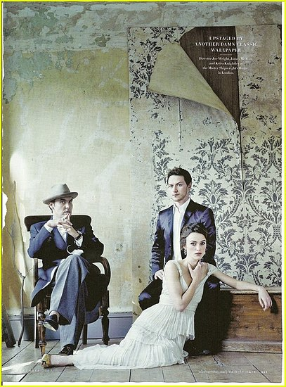 Peep these new The Duchess movie stills! Pictured to the left is Atonement