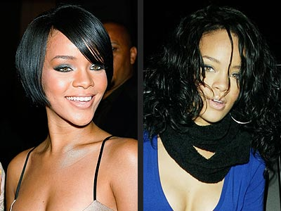 2008 winter short hairstyle from Rihanna Rihanna Hairstyles Live your Life
