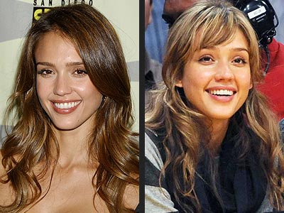 Jessica Alba - Hair With Bangs