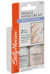 sally hansen french manicure kit instructions