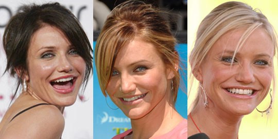 Long blonde hairstyles - Cameron Diaz 3