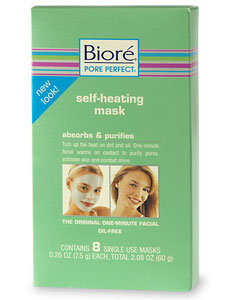 Biore Self Heating One Minute Mask Kit & Review » Beauty Skeptic
