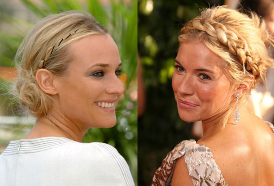 side braid hairstyles. The next raided hairstyle