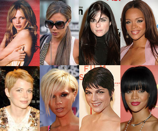 Surprising Whose Drastic Celebrity Haircut Do You Like Best Popsugar Beauty Hairstyles For Men Maxibearus