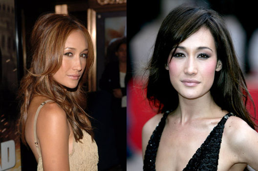 Miley Cyrus hairstyles: Maggie Q Haircut Styles
