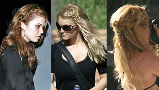 see as big hair style trends for fall. Watch for hair styles with buns,