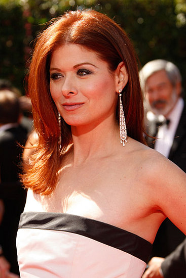 love it or hate it debra messing 39 s emmy awards look popsugar beauty. Black Bedroom Furniture Sets. Home Design Ideas