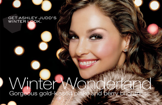ashley judd hairstyles. This season, the look is called Winter Wonderland,