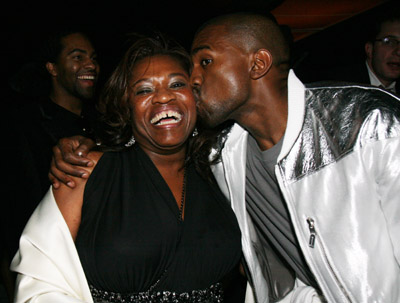 kanye west mother death