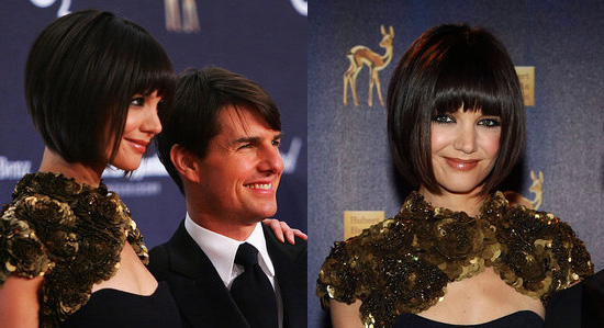 katie holmes bob with bangs. No doubt that Katie Holmes was