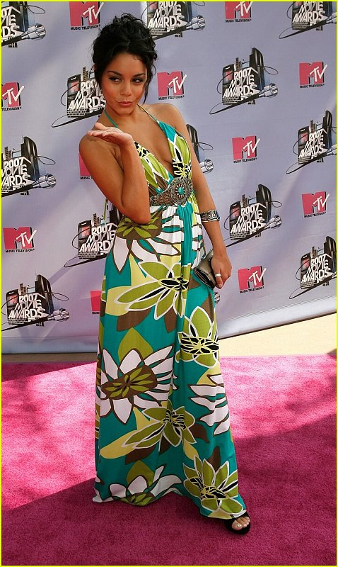 Vanessa Hudgins at the MTV Movie Awards